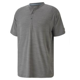 Men's EGW Cloudspun Henley Short Sleeve Polo