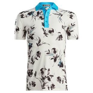 Polo Watercolour floral pour hommes