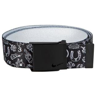 Men's Printed Web Belt