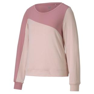 Women's Cloudspun Colourblock Cew Sweater