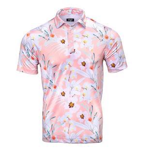 Men's Hawaiin Blossom Short Sleeve Polo