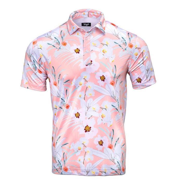 Polo Hawaiin Blossom pour hommes