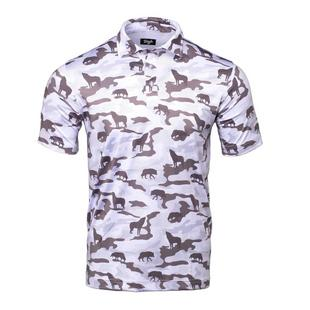 Men's Lone Wolf Short Sleeve Polo