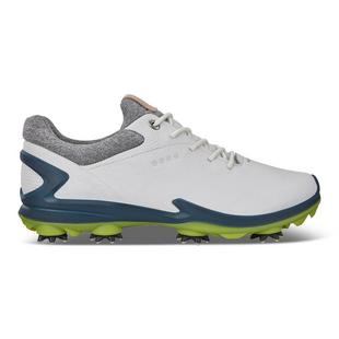 Men's Golf Biom G3 Spiked Golf Shoe - White/Navy