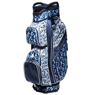 Ladies Cart Bag - Blue Leopard