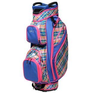 Ladies Cart Bag - Plaid Sorbet