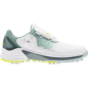 Chaussures ZG 21 Boa à crampons pour femmes - Blanc/Gris/Jaune