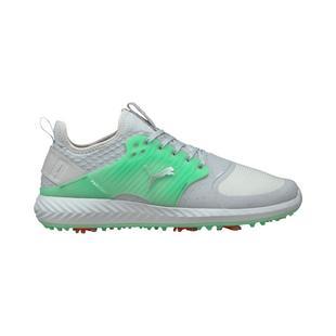 Chaussures Ignite PWRAdapt Caged Flash FM à crampons pour hommes - Gris/Vert pâle (Édition limitée)