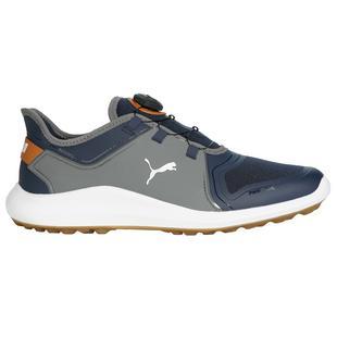 Chaussures Ignite Fasten 8 Disc sans crampons pour hommes - Bleu marine/Gris