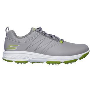 Chaussures Go Golf Torque à crampons pour hommes - Gris/Vert
