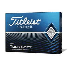 Tour Soft Personalized Golf Balls - White