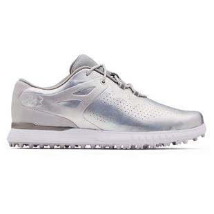 Women's Charged Breathe Spikeless Golf Shoe - White/Silver
