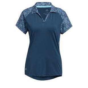 Women's Ultimate365 Printed Short Sleeve Polo