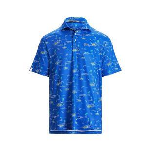 Men's Airflow Shark Attack Short Sleeve Polo