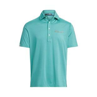 Men's Airflow Feed Stripe Short Sleeve Polo