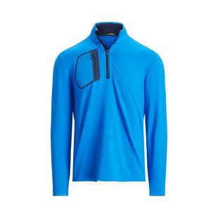 Men's Brushed Back 1/2 Zip Pullover
