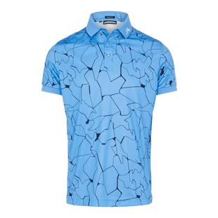 Men's Tour Tech Regular Fit Print Short Sleeve Polo