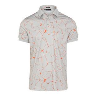 Men's Tour Tech Regular Fit Print Short Sleeve Polo