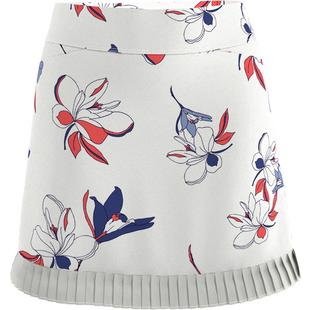 Jupe-short Art Nouveau à motif fleuri, 18 pouces