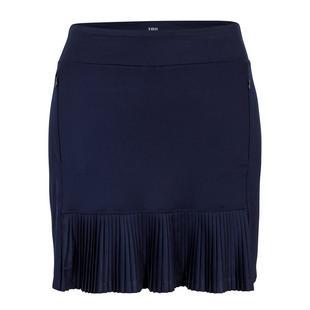 Jupe-short Ambar plissée de 18 po pour femmes