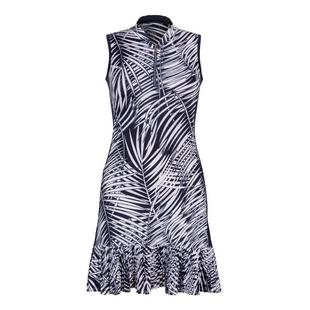 Women's Nabila Palm Print Sleeveless Dress