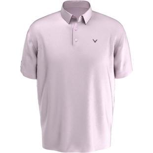 Men's Fine Line Stripe Short Sleeve Polo