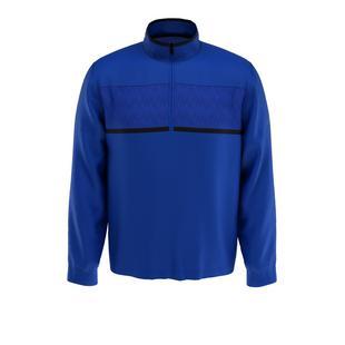 Men's Pierced Rain Printed 1/4 Zip Pullover
