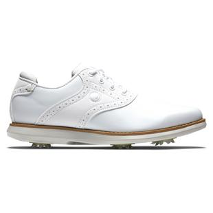 Women's DryJoy Premiere Traditions Spiked - White
