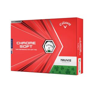 Chrome Soft Truvis Golf Balls - Shamrock Edition