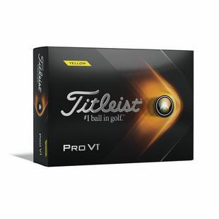 Balles Pro V1 - Jaune