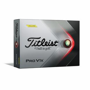 Pro V1x Golf Balls - Yellow