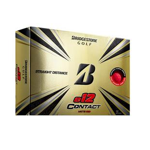 e12 Contact Golf Balls - Matte Red