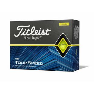 Tour Speed Golf Balls - Yellow