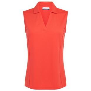 Women's Ventilated Sleeveless Polo