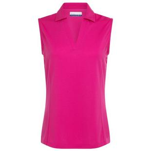 Women's Ventilated Sleeveless Polo