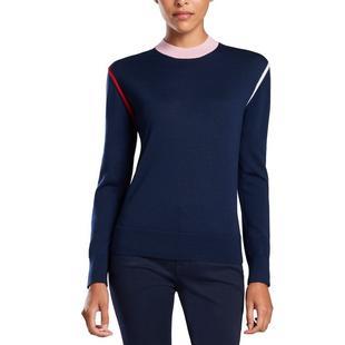 Women's Colour Block Crew Sweater
