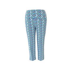 Pantalon 7/8 Blue Geo pour femmes