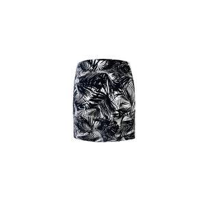Jupe-short Fern à imprimé de 18 po pour femmes