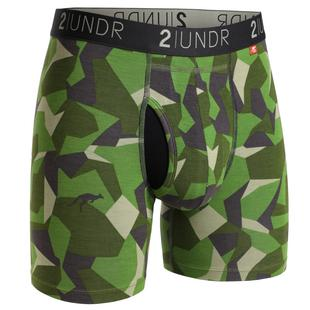 Men's Swing Shift Boxer Brief - Green Camo