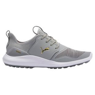Men's Ignite NXTSpikeless Golf Shoe - Light Grey/Gold