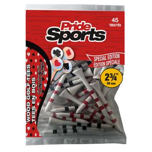 Playing Card 2 3/4 Inch Tees (45 Count)