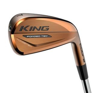 Forged Tec Copper 4-PW Iron Set with Steel Shafts
