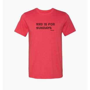 Men's Red is For Sundays T-Shirt