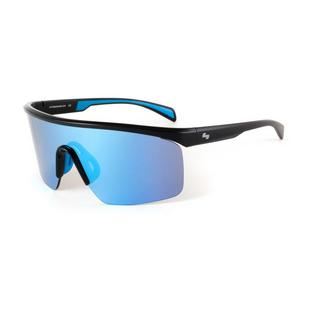 Maverick - Shiny Black/Smoke Ice Blue Mir Sunglasses
