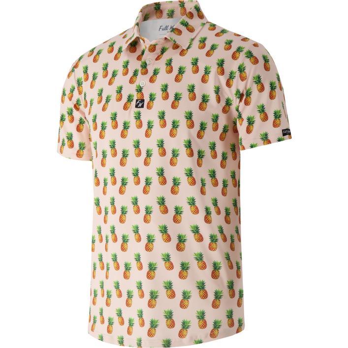 Men's Fineapple Short Sleeve Polo