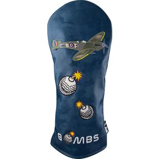Dropping Bombs Driver Headcover - Razzle Dazzle Collection