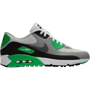 Chaussures Air Max 90 G sans crampons pour hommes - Gris/Noir/Vert