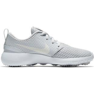 Junior Roshe G Spikeless Golf Shoe-Platinum/White