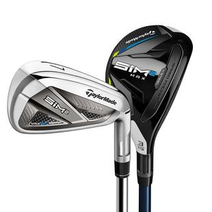 SIM 2 Max 4H 5H 6-PW AW Combo Iron Set with Graphite Shafts