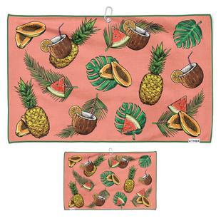 Tropical Holiday Microfiber Cart Towel